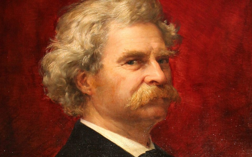 Mark Twain 1905 owned by the Mark Twain Library in Redding CT
