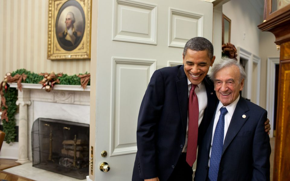 Obama and Wiesel