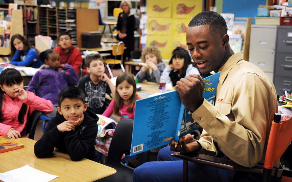 Storyteller and Children