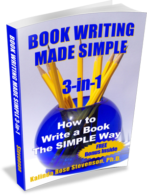 Book Writing Made Simple 3-in-1