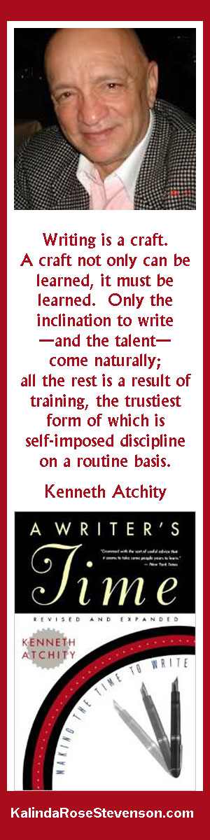 Kenneth Atchity Writing Is a Craft