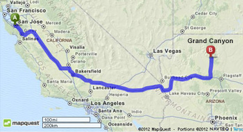 MapQuest-San_Jose_to_Grand_Canyon