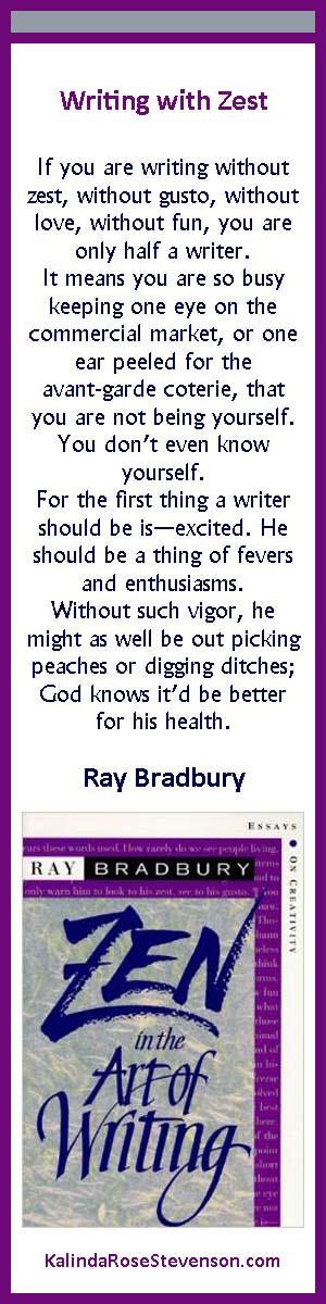 Ray Bradbury Zen in Art of Writing