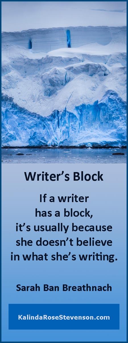 Sarah Ban Breathnach Writer's Block