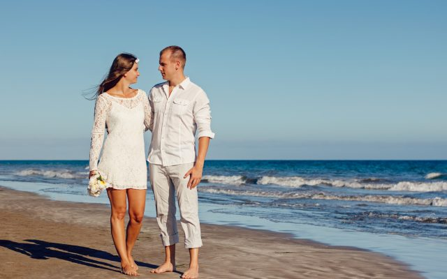 Couple in Love at beach